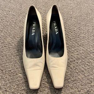 Prada Vero Cuoio Heels